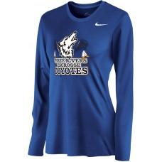 Three Rivers 06: Nike Women's Legend Long-Sleeve Training Top - Royal