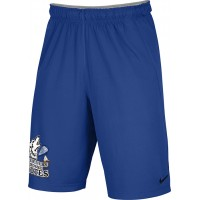 Three Rivers 10: Adult-Size - Nike Team Fly Athletic Shorts - Royal with 3R Logo