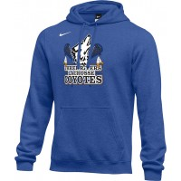 Three Rivers 20: Adult-Size - Nike Team Club Men's Fleece Training Hoodie - Royal